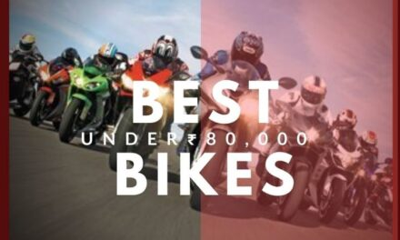 Best performance bikes under 80000