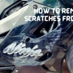4 Ways on How to remove scratches from bike