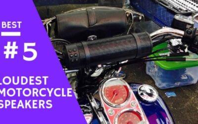 7 Best Loudest Motorcycle Speakers of 2020