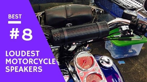 8 Best Loudest Motorcycle Speakers Reviewed