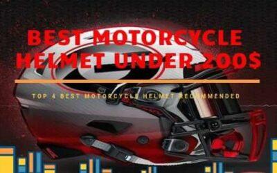 Best Motorcycle Helmets Under 200$