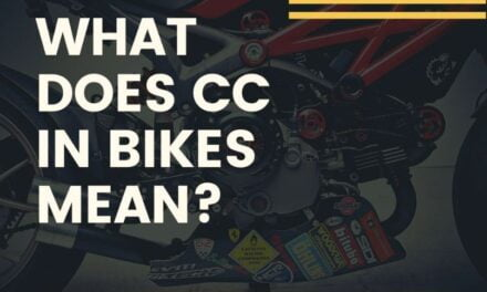 What is cc in bikes?